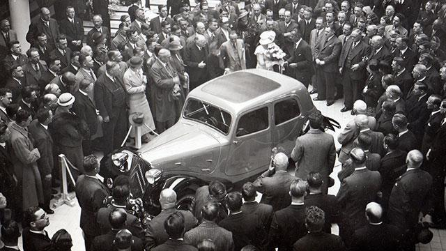 1934 m. Traction 7A salone